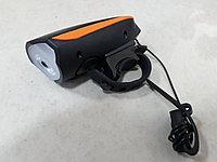 Передний фонарь на USB с сигналом 2 в 1 Speaker Bicycle Light