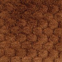 Мех 'Фактурный-СОТЫ' 50см*50см (+/-1,0см), цв.коричневый