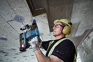 Аккумуляторный перфоратор Bosch GBH 36 V-LI Plus Professional (2 акк 4.0 Ач) в L-Boxx 0 611 906 002, фото 3