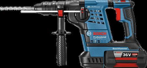 Аккумуляторный перфоратор Bosch GBH 36 VF-LI Plus  Professional (2 акк 4.0 Ач) в L-Boxx, фото 2