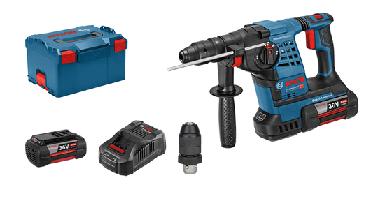 Аккумуляторный перфоратор Bosch GBH 36 VF-LI Plus  Professional (2 акк 4.0 Ач) в L-Boxx, фото 3