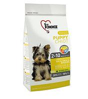 1st Choice Puppy - корм для щенков миниатюрных и мелких пород (курица) 2.72 кг., фото 1