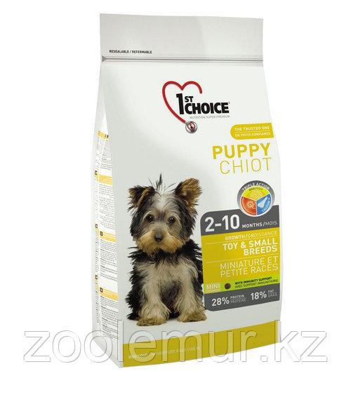 1st Choice Puppy - корм для щенков миниатюрных и мелких пород (курица) 7 кг.