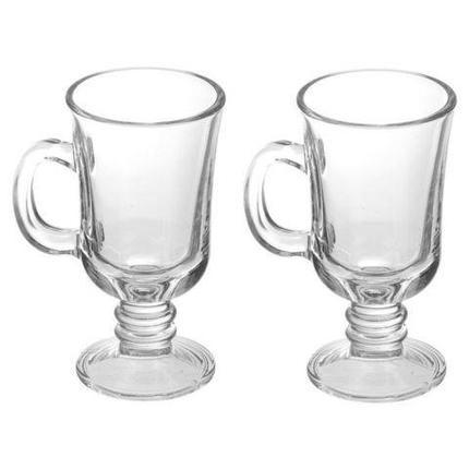 Набор стеклянных кружек для ирландского кофе и глинтвейна LIVING HOME [6 шт.], фото 2