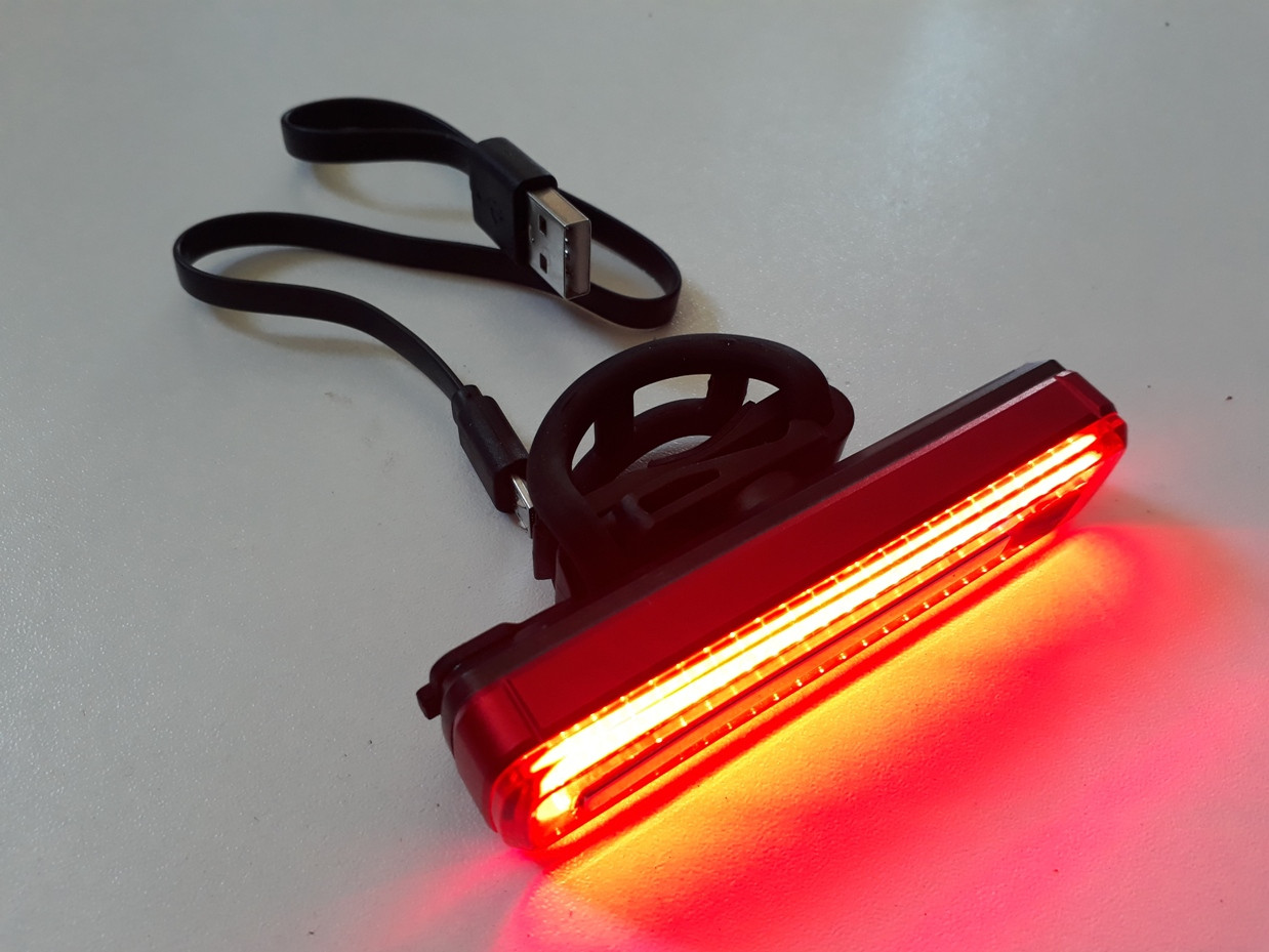 Задний фонарь на USB