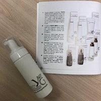 Пенка Очищающая Youth Gems с пептидами и экстрактом женьшеня 160 мл