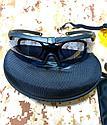 Тактические очки ESS с 3 сменными линзами в чехле, фото 2