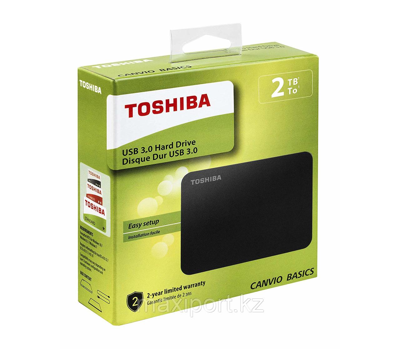 Toshiba canvio basics  2TB USB3.0 Hard Drive