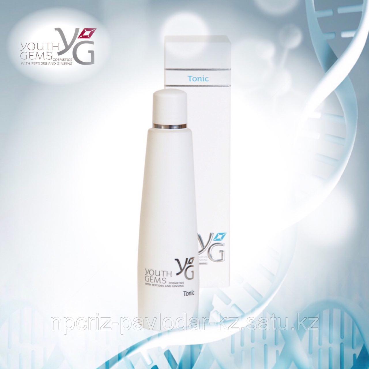 Тоник для Лица Youth Gems с пептидами и экстрактом женьшеня 200 мл