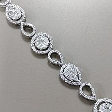 Браслет с бриллиантами