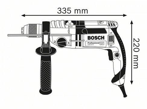 Ударная дрель Bosch GSB 24-2  L-Case Professional 060119C900, фото 2