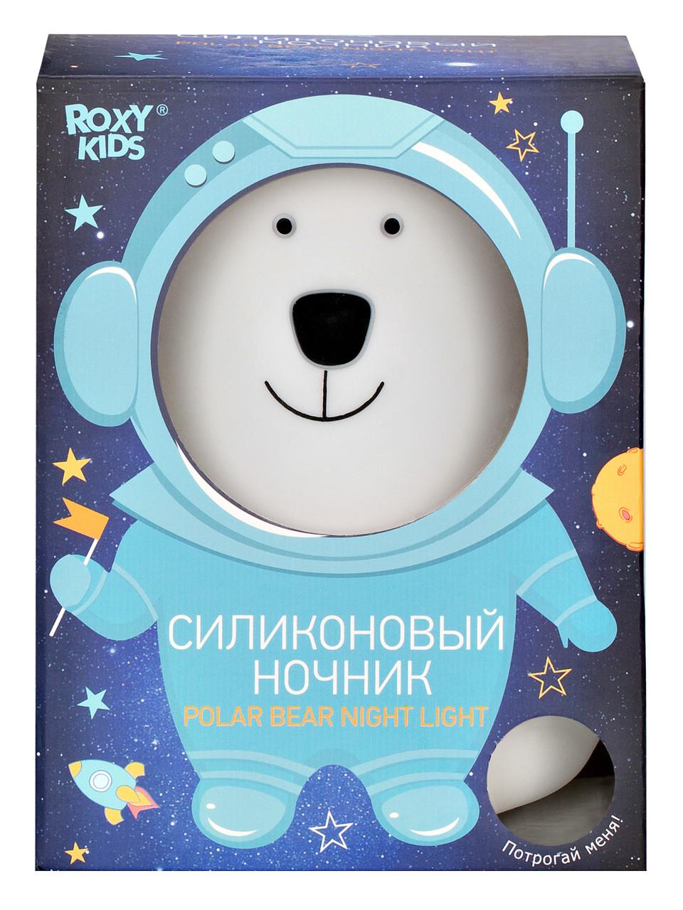 Силиконовый ночник Polar Bear - фото 2