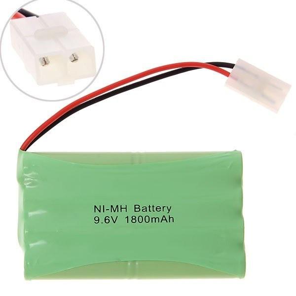 Аккумулятор Ni-Mh 9.6V 1800 mAh AA (разъем Tamiya)