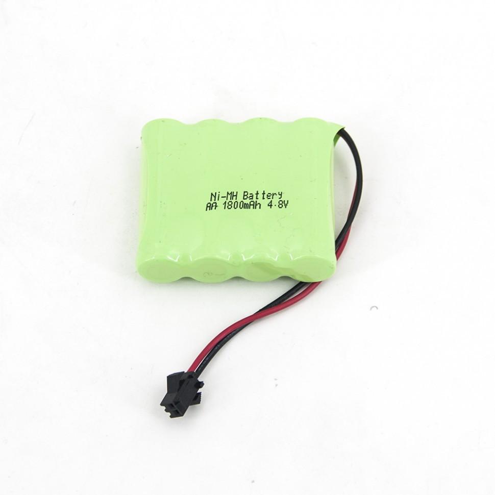 Аккумулятор Ni-Mh 4.8V 1800 mAh AA для радиоуправляемых игрушек