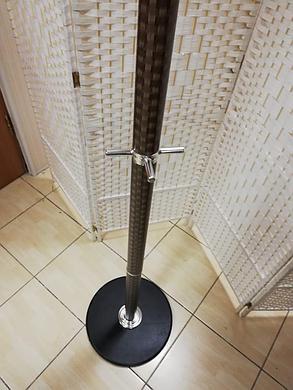 """Вешалка напольная для одежды """"Стойкая"""", цвет коричневый, фото 2"""