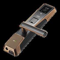 Электронный замок с идентифицикацией по лицу и отпечатку пальца ZKTeco ZM100, фото 1