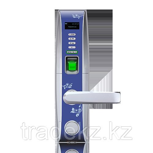 Электронный замок с идентификацией по отпечатку пальца, RFID карте, временному паролю, ключ ZKTeco L4000