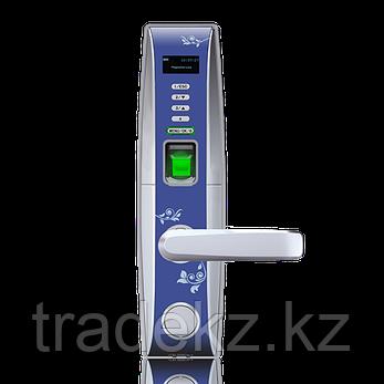 Электронный замок с идентификацией по отпечатку пальца, RFID карте, временному паролю, ключ ZKTeco L4000, фото 2