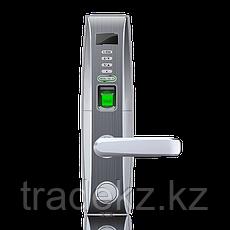 Электронный замок с идентификацией по отпечатку пальца, RFID карте, временному паролю, ключ ZKTeco L4000, фото 3