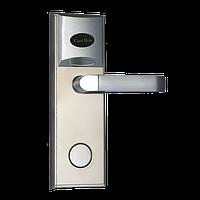 Электронный замок с идентификацией по лицу, временным паролям и считывателем RFID карт ZKTeco LH1000, фото 1