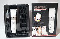 Керамическая машинка для стрижки животных Gemei GM-634, фото 3