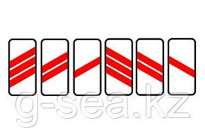 Дорожный знак 1.4.1 - 1.4.6, 1.32.1 - 1.32.3, 7.1.3, 7.1.4, 7.2.2 - 7.11, 7.14 - 7.19