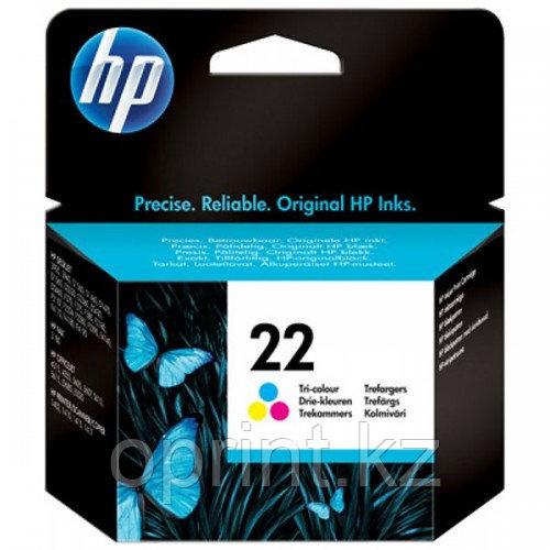 Картридж струйный HP 22 цветной