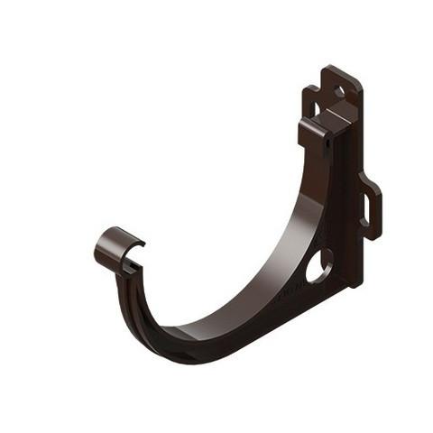 Держатель желоба ПВХ  INES коричневого цвета 120 мм