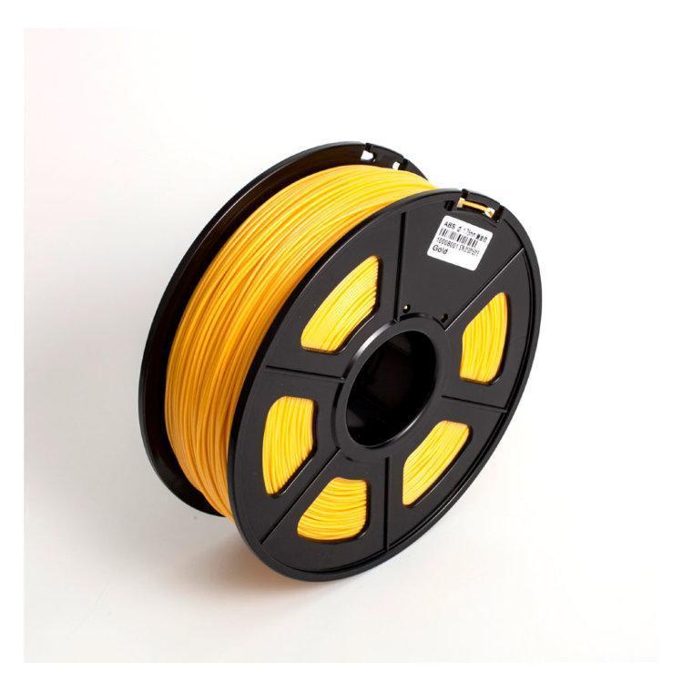 Пластик для 3D принтеров PLA+, SUNLU, светло-золотистый