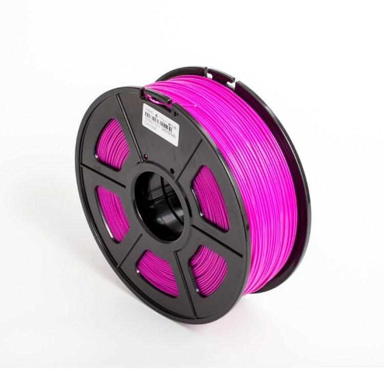 Пластик для 3D принтеров PLA+, SUNLU, фуксия