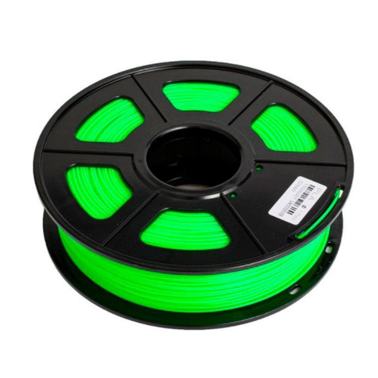 Пластик для 3D принтеров PLA+, SUNLU, зеленый