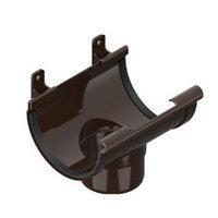 Сливная воронка  INES коричневого цвета (120/80 мм).