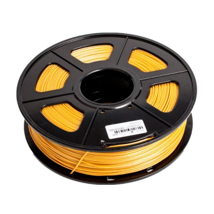 Пластик для 3D принтеров PLA+, SUNLU, золотистый