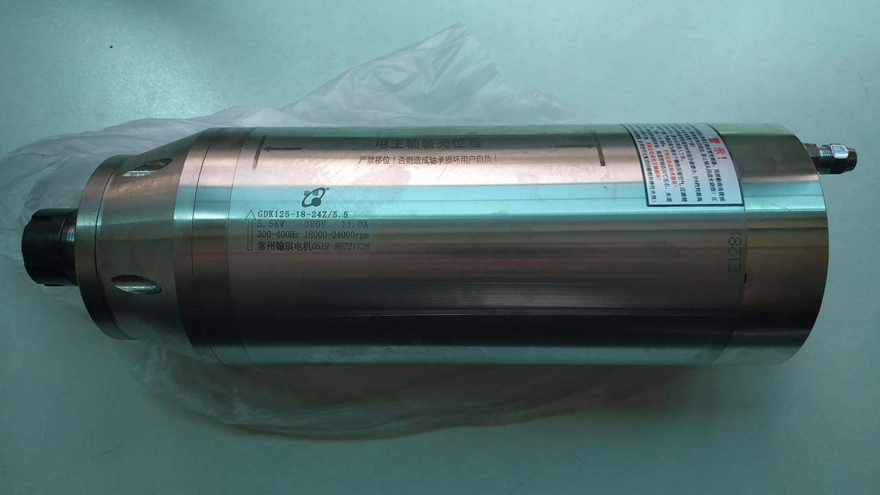 Шпиндель HQD 5.5kW водяной