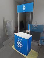Печать и конструкция промо-стоек для акций, фото 1