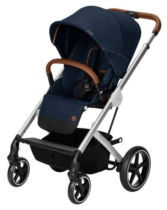 Cybex: Прогулочная коляска Denim Balios S Denim  с дождевиком цвета в ассортименте