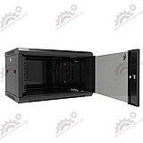 Шкаф серверный настенный LATITUDA 9U, 600*600*500 мм цвет черный, фото 3