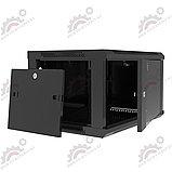 Шкаф серверный настенный LATITUDA 9U, 600*600*500 мм цвет черный, фото 4
