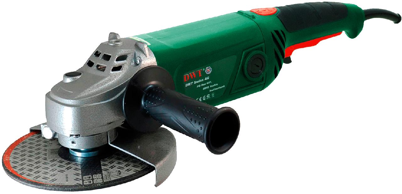 Углошлифовальная машина DWT WS13-180T