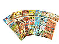 Закладки для книг магнитные (набор 6 штук) мультяшки