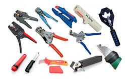 Инструменты для опрессовки, резки, снятие изоляции