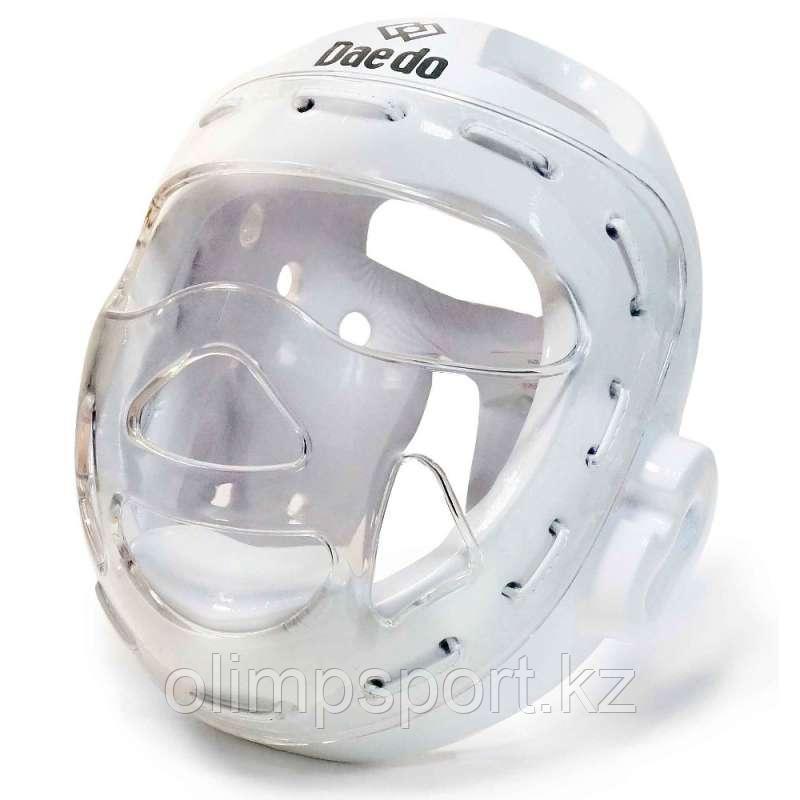 Шлем тхэквондо, белый