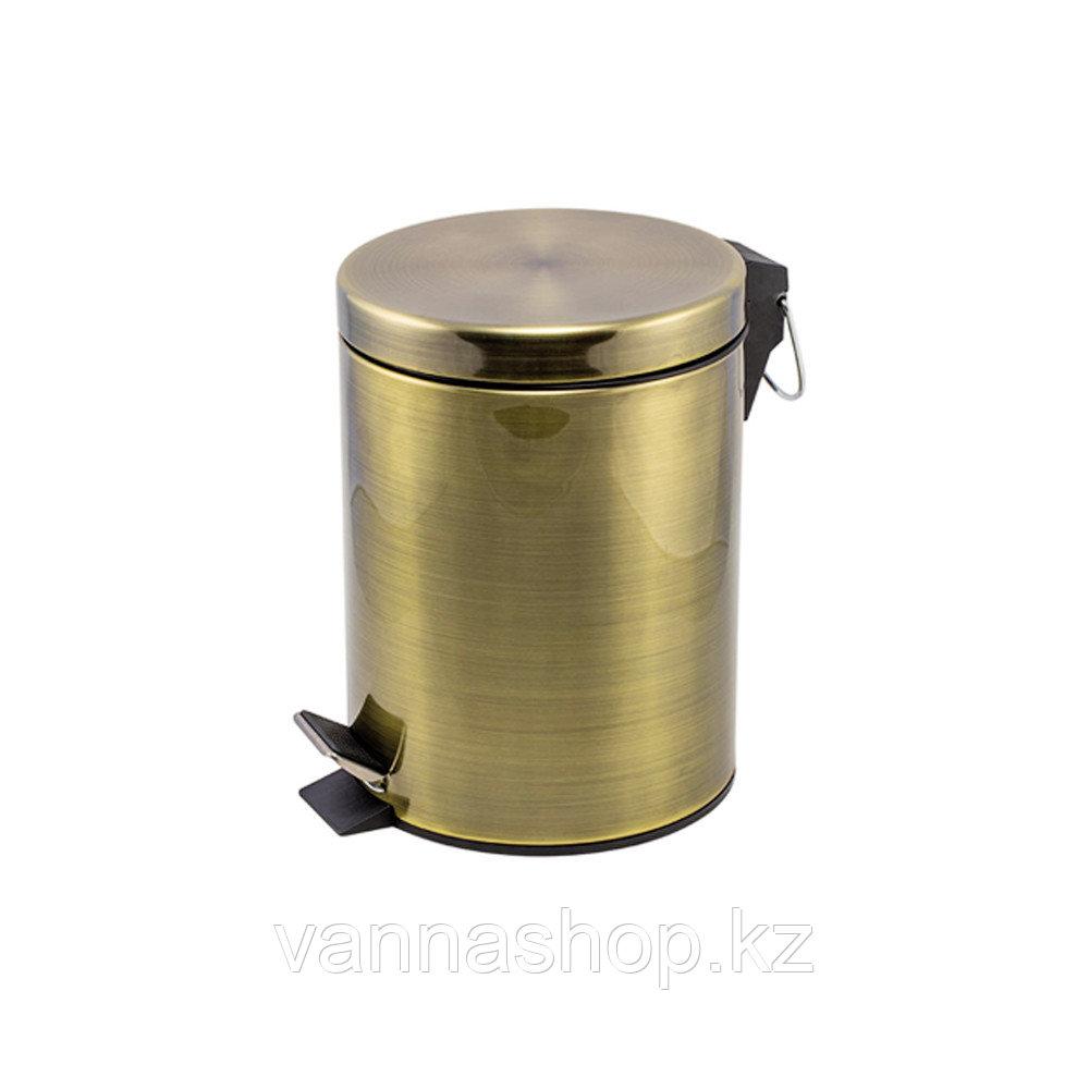 Педальная урна (бронза) 12 литров