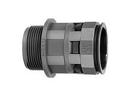 PAСM17M20N  ДКС Муфта труба-коробка DN 17 мм, М20х1,5, полиамид, цвет черный