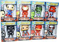 Немного помятая!!! DT-007 Мстители  Avengers 4 infinity war герои музыкальные 16*12, фото 1