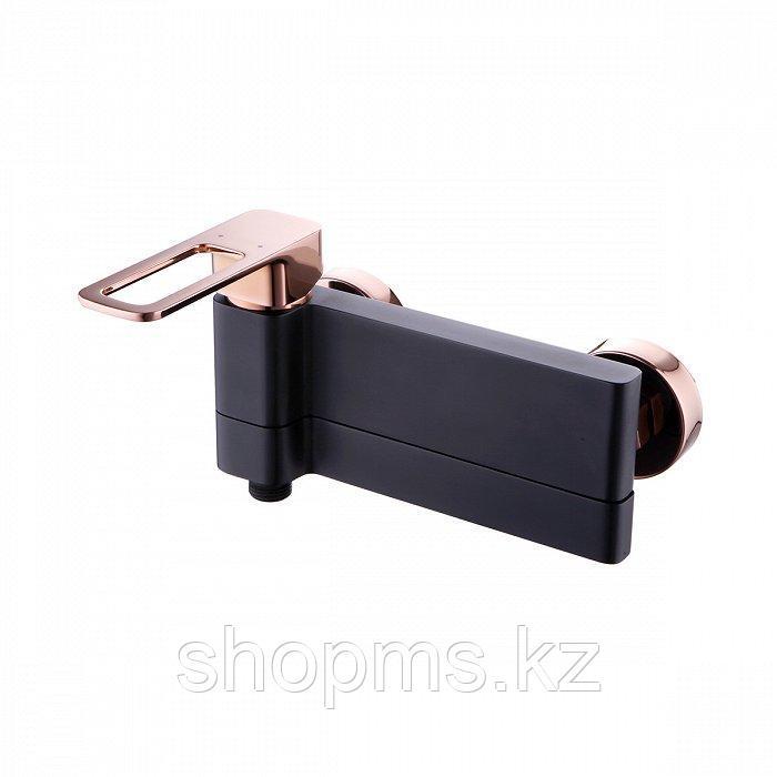Смеситель IDDIS SLIDE SLIBG00l02 Ванна Чёрный/Розовое золото