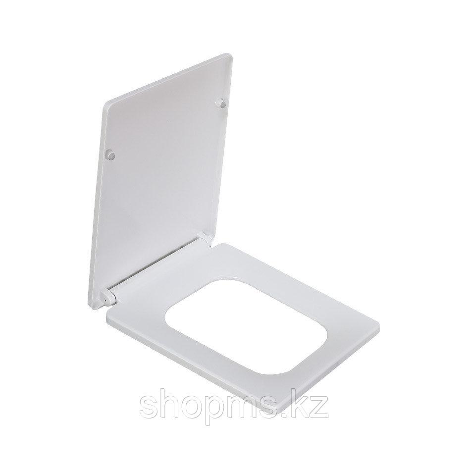 Сиденье для унитаза дюропласт с микролифтом, белое MELANA 2007Sa