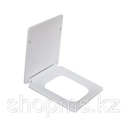 Сиденье для унитаза дюропласт с микролифтом, белое MELANA 2007Sa, фото 2