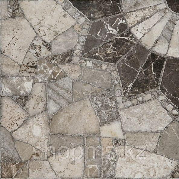 Керамический гранит Шахтинская Тициан сер КГ 02 (400*400)**