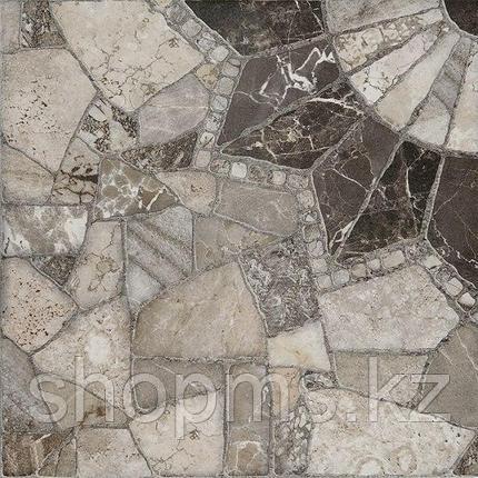 Керамический гранит Шахтинская Тициан сер КГ 02 (400*400)**, фото 2